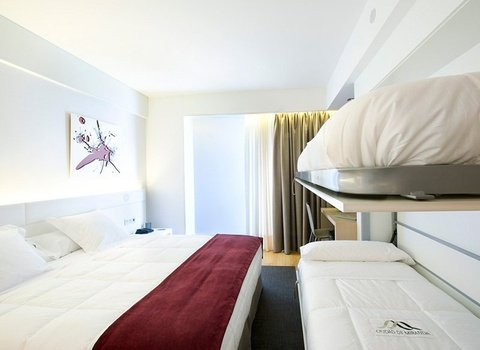 Spacious rooms for those traveling with family or friends